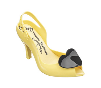 Vivienne Westwood Melissa Lady Dragon yellow