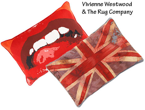 Vivienne Westwood Pillows For The Rug Company