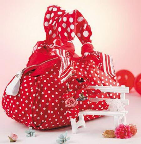 Vivienne Westwood Red Polka Dot Bag