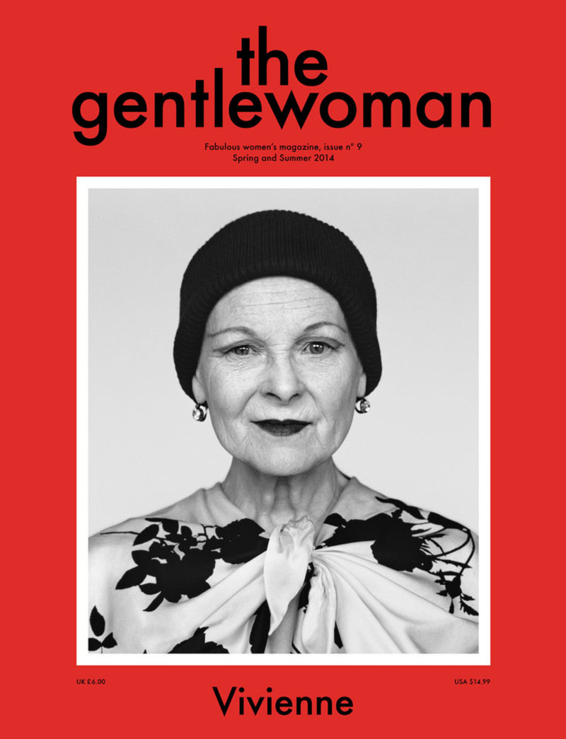 Vivienne Westwood the Gentlewoman Spring Summer 2014 cover