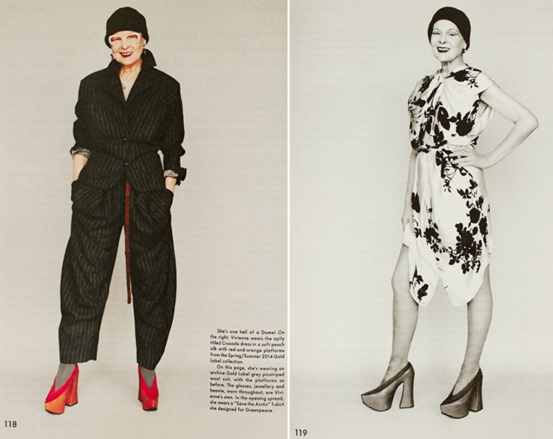 Vivienne Westwood the Gentlewoman Spring Summer 2014 pictorial