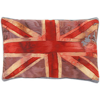 Vivienne Westwood Union Jack pillow The Rug Company