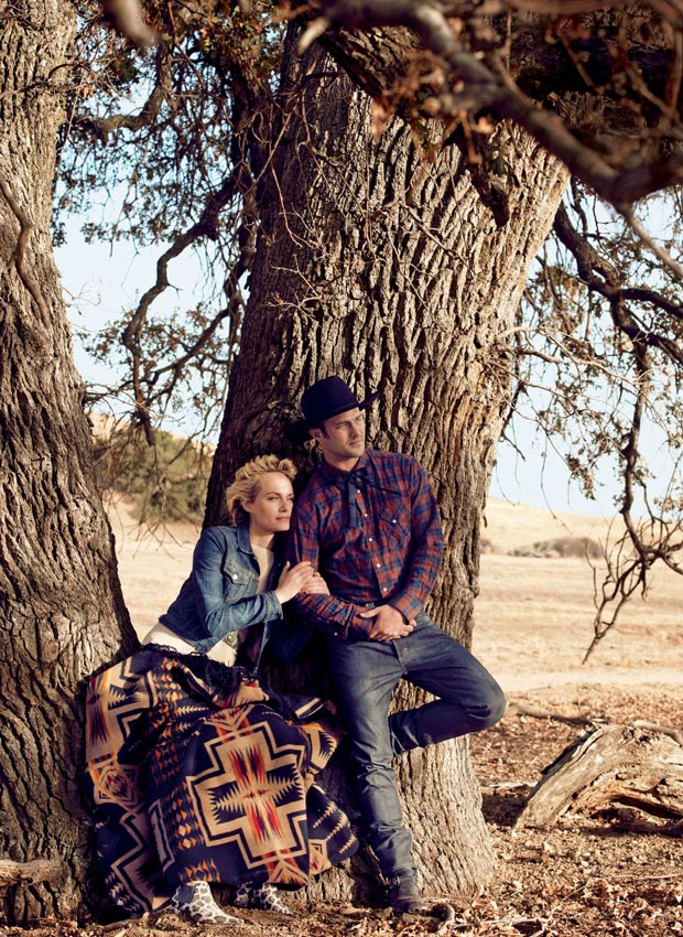 Vogue February 2013 American Way pictorial