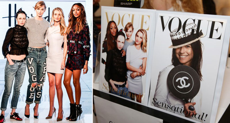 Vogue Festival covers models and more