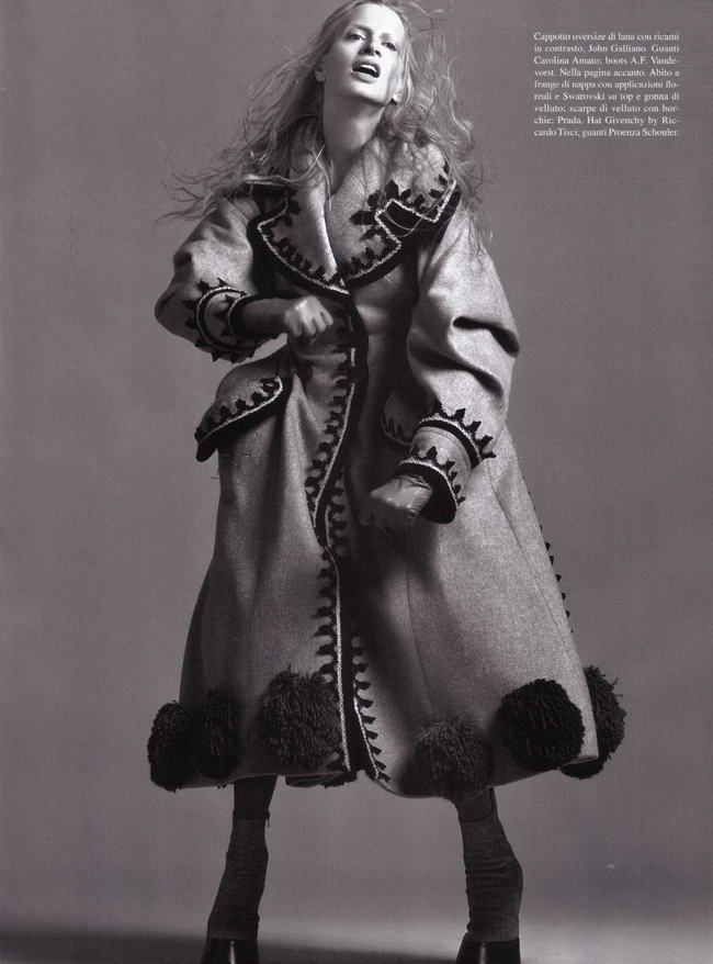 Vogue Italy July 2009 Kristen McMenamy 8