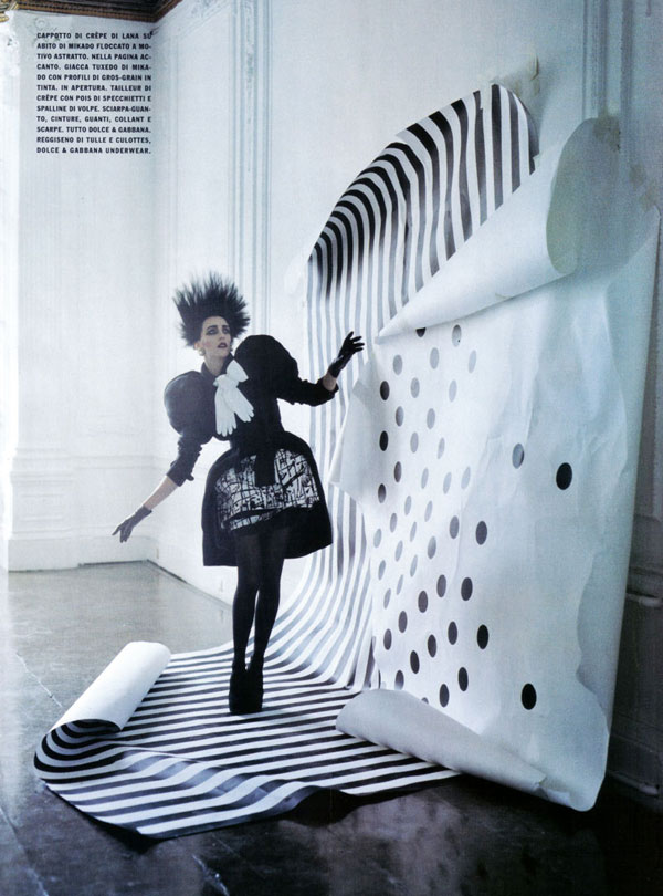 Vogue Italy September 2009 Tim Walker 1