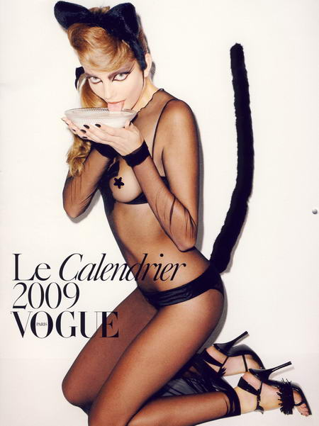 Vogue Paris Calendar 2009