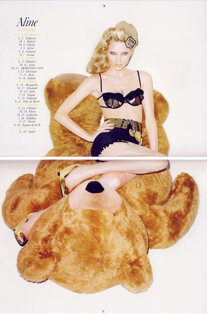 Vogue Paris Calendar 2009 November