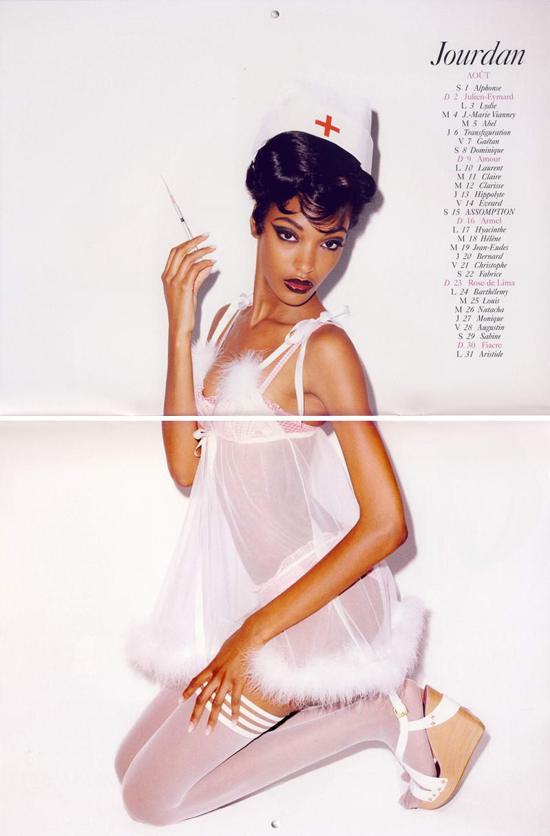 Vogue Paris Calendar 2009 August