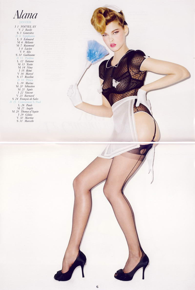 Vogue Paris Calendar 2009 January