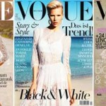 Vogue Paris Germany Spain Dolce Gabbana white dress
