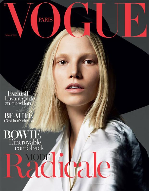 Vogue Paris radical March 2013 cover Suvi Koponen