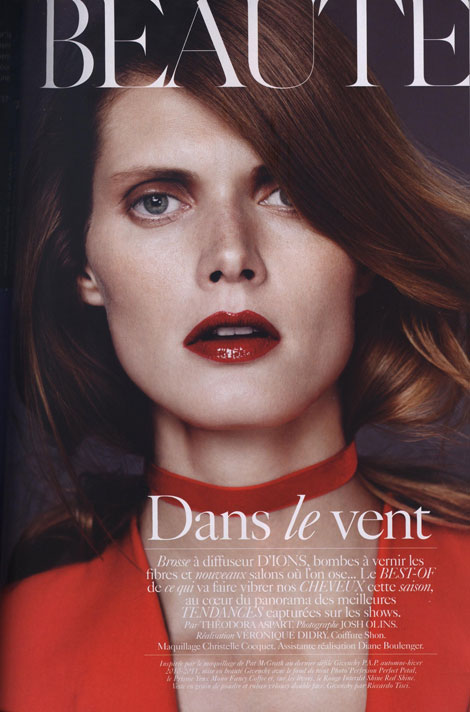 Vogue Paris September Beaute supplement