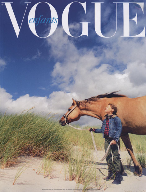 Vogue Paris September Enfants supplement
