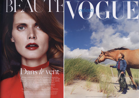 Vogue Paris September supplements