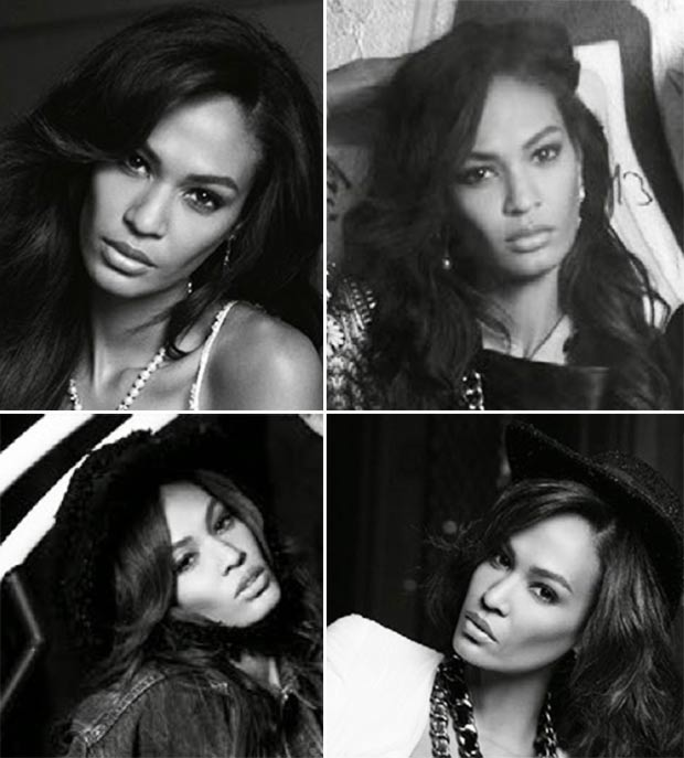 Vogue Spain December 2013 Joan Smalls many faces
