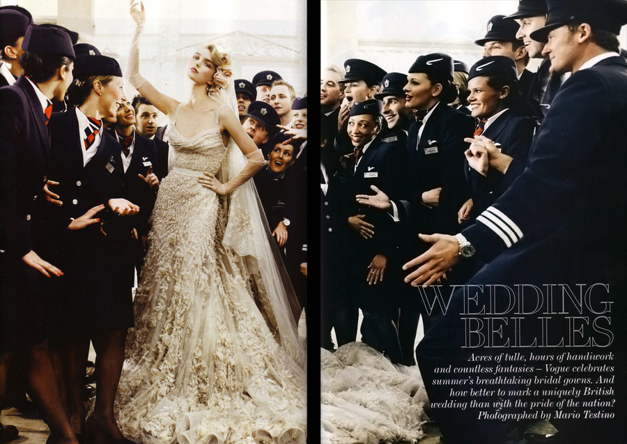 Vogue UK May 2011 bridal 2