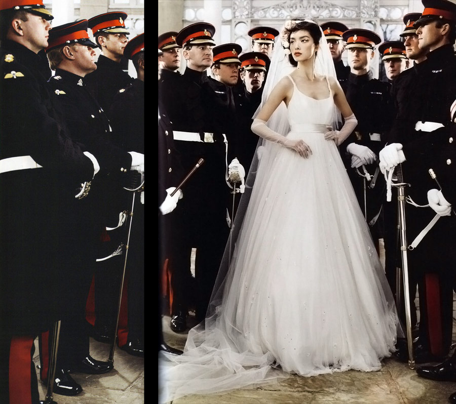 Vogue UK May 2011 bridal 3