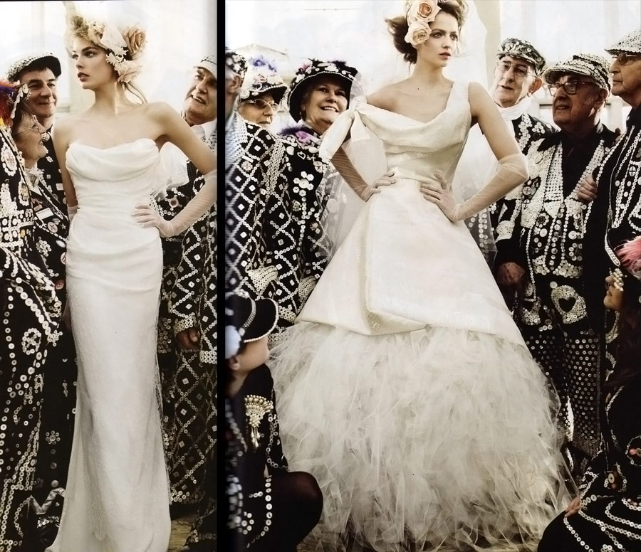 Vogue UK May 2011 bridal 6