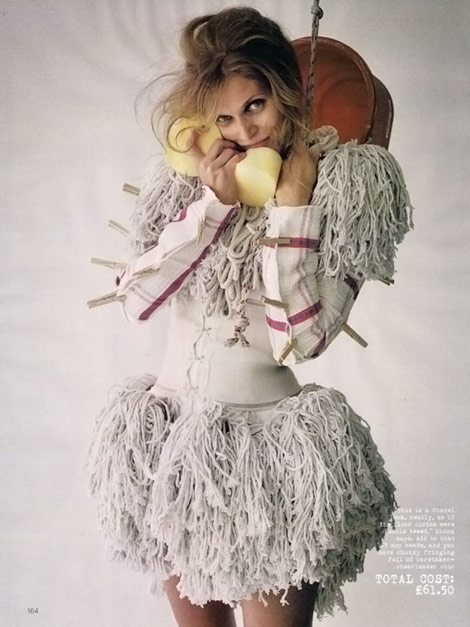 Vogue UK November 2009 Tim Walker Malgosia Bela
