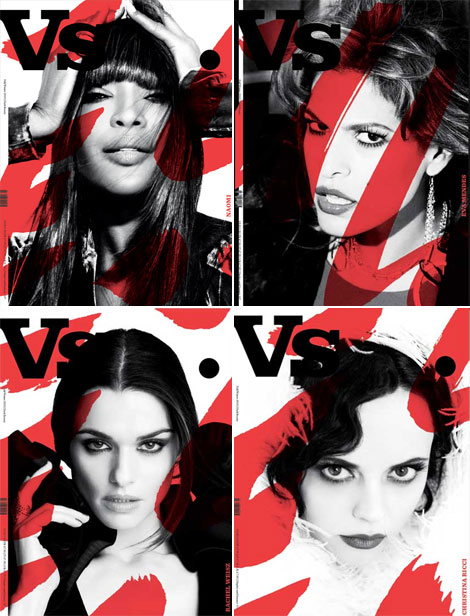 Vs Magazine Fall 2010 covers