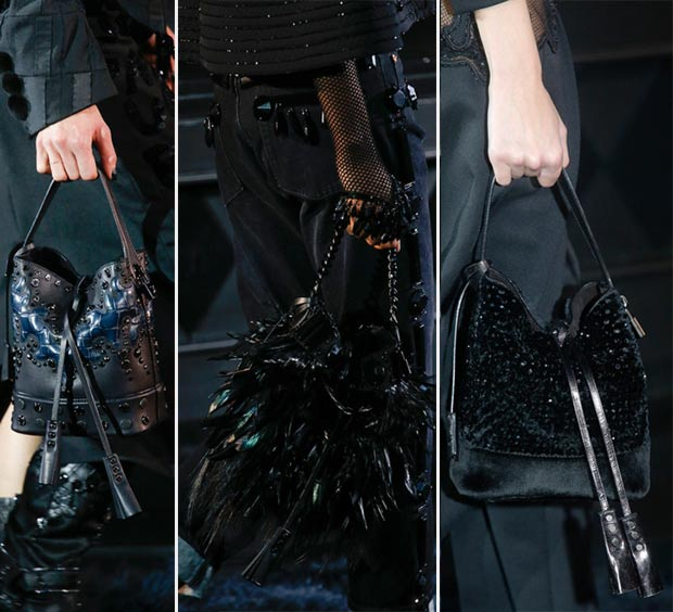 Marc Jacobs Exits Louis Vuitton With All Black Spring Summer 2014 Collection