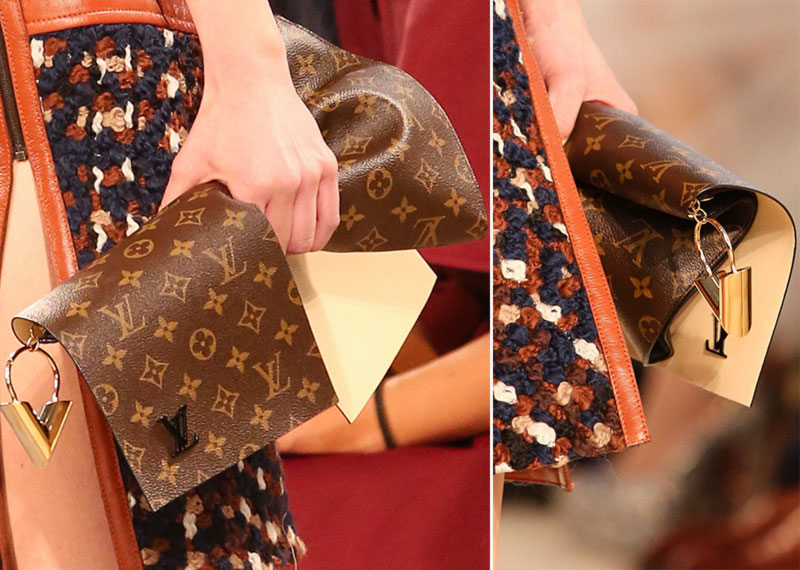 Vuitton clutch Fall 2014
