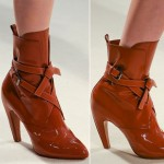 Vuitton new patent leather booties fall 2014