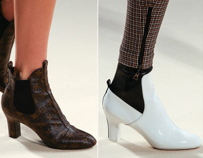 Vuitton retro new boots Fall 2014