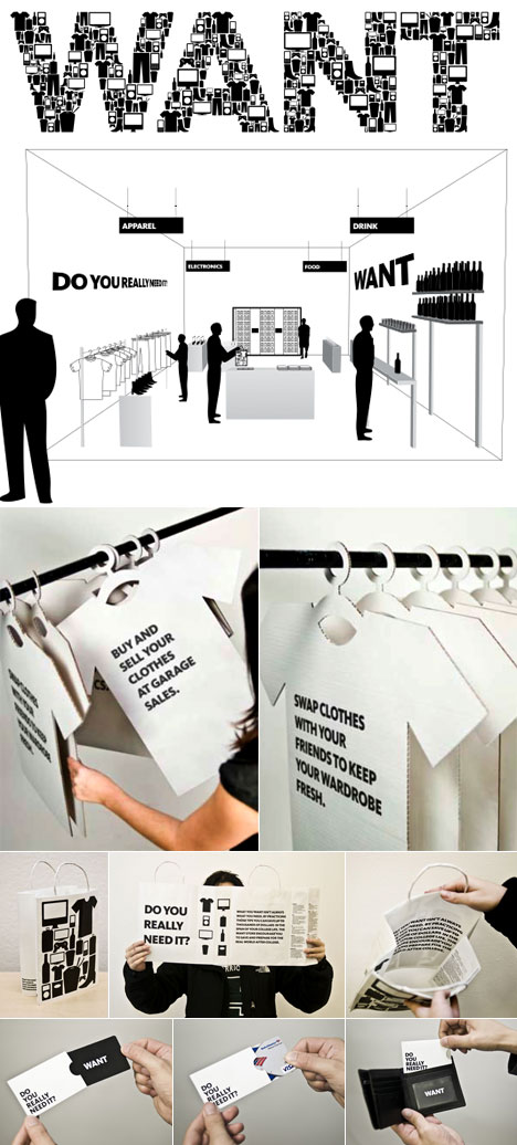 WANT, The Anti Retail Experience