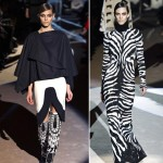 wear black and white combinations Fall 2013 Tom Ford