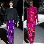 wear colorful geometries Fall 2013 Tom Ford