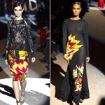 wear comic book prints Fall 2013 Tom Ford