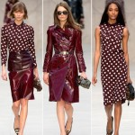 wear ruby for fall Burberry Fall 2013 collection