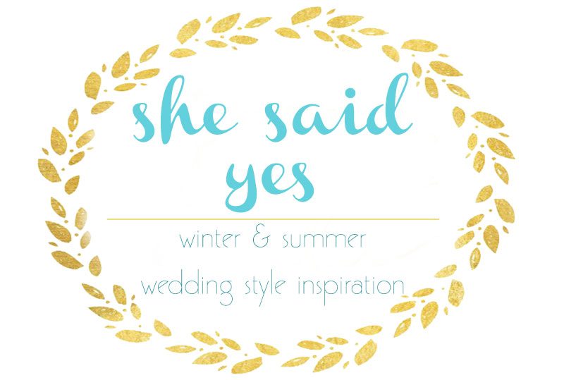 wedding style inspiration winter and summer