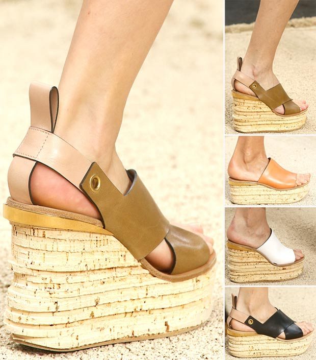 wedges Chloe Spring Summer 2014