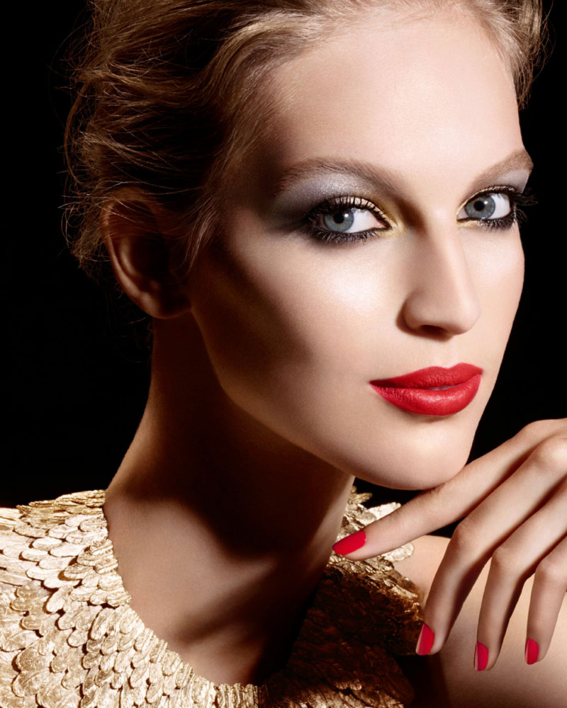 what makeup for the Holidays party Chanel Ad Campaign
