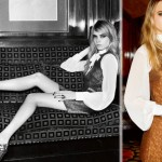 What to wear for the Holidays party Topshop retro ad Cara