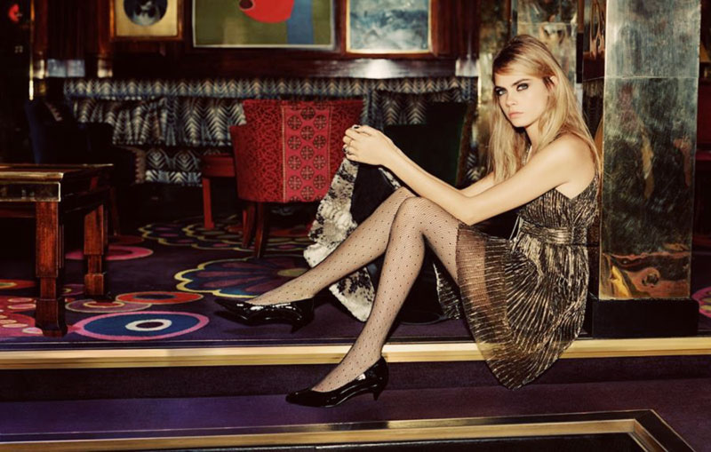What to wear Holidays Party Topshop campaign Cara Delevingne