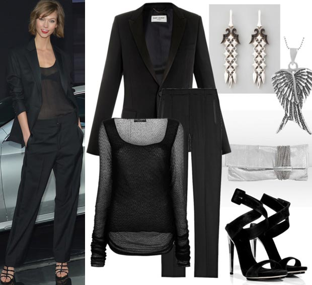 what to wear to a sophisticated event inspired by Karlie