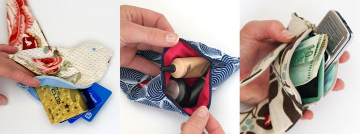 What You can fit into the Little Bird Pouch