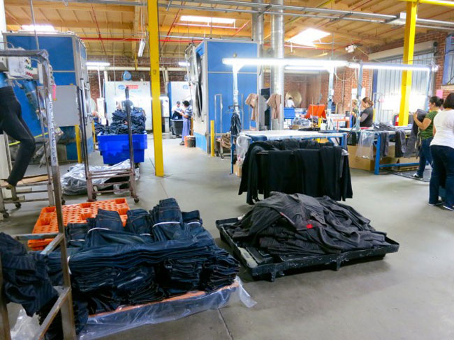 where jeans are made