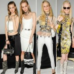white and animal print fall 2013 trends Versace