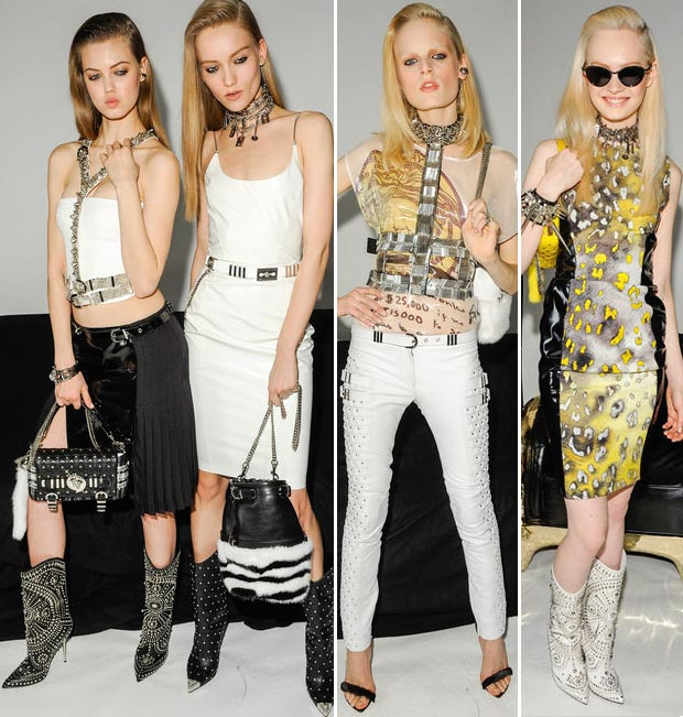 Fall 2013 Versace Collection: Studded, Spiked, Nailed Egdy Fashion