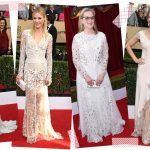white dresses red carpet 2017 sag awards