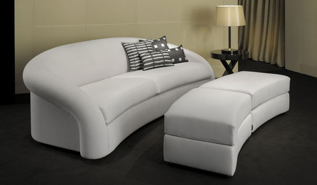 white furniture Armani casa