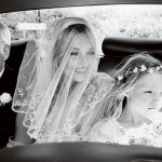 white wedding veil romantic Kate Moss wedding Vogue Mario Testino