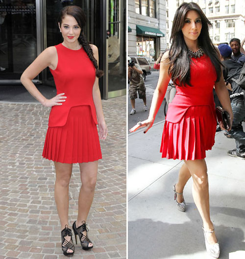 Duchess Catherine&#8217;s Alexander McQueen Red Pleated Dress For Queen&#8217;s Diamond Jubilee