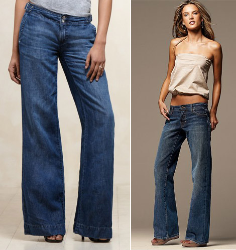 wide leg boyfriend fit jeans