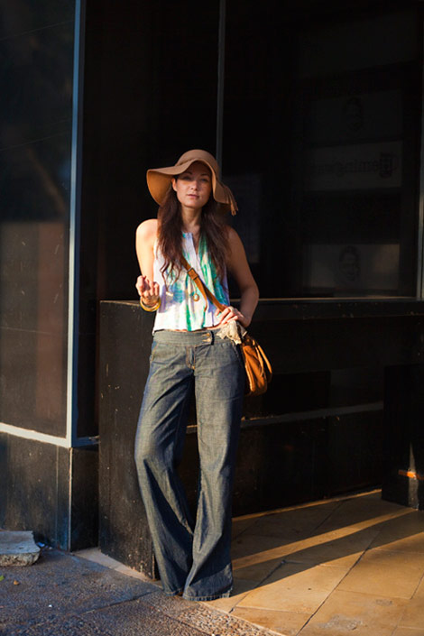 Wide Leg Jeans: Hip Or Hippie?